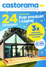 Castorama Werbeprospekt mit neuen Angeboten (10/18)