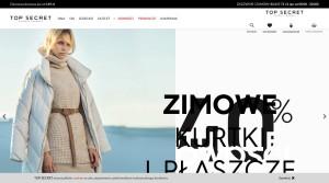 Top Secret - Mode & Bekleidungsgeschäfte in Polen