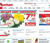 Auchan – Supermärkte & Lebensmittelgeschäfte in Polen, Lublin