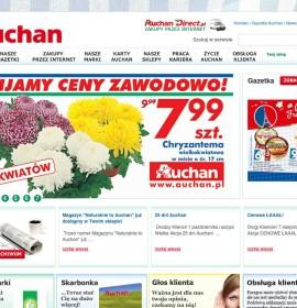 Auchan – Supermärkte & Lebensmittelgeschäfte in Polen, Kraków