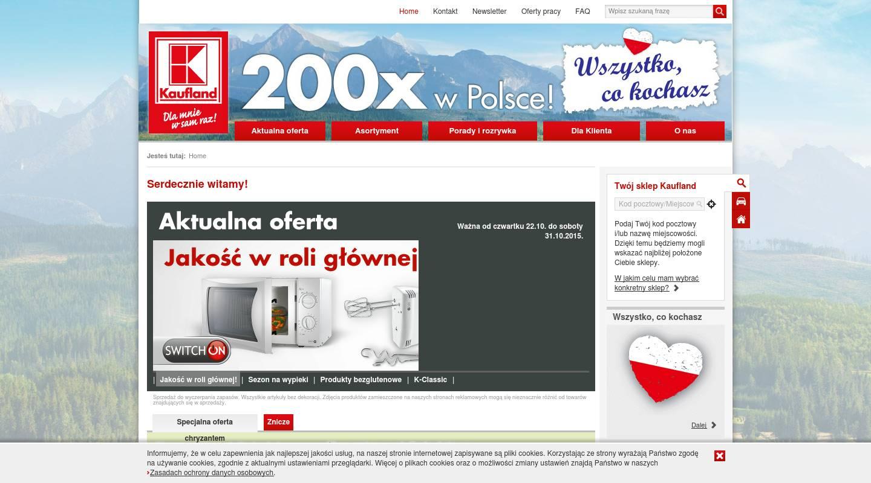 ▷ Kaufland - Supermärkte & Lebensmittelgeschäfte in Polen, Szczytno ...
