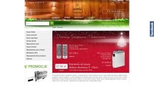 Bauindustrie - Bauunternehmen - Saunen,  in Polen AMS SAUNA