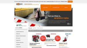 Bauindustrie - Bauunternehmen - Straßenbau,  in Polen F.H-U ''ASPOL''