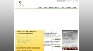 Bauindustrie - Bauunternehmen - Lagerhallen,  in Polen Greenpiling Sp. z o.o.