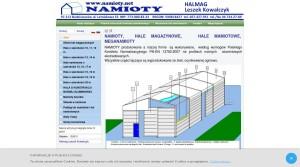 Bauindustrie - Baustoffe - Fenster & Zubehör, Bauindustrie - Bauunternehmen - Lagerhallen,  in Polen Halmag Leszek Kowalczyk