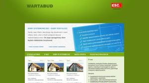Bauindustrie - Bauunternehmen - Industriebau, Bauindustrie - Bauunternehmen - Wohnbau,  in Polen WARTABUD