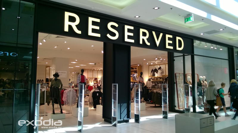 Reserved Fashion-Store in Polen