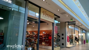 Geschäfte in polnischen Einkaufszentren