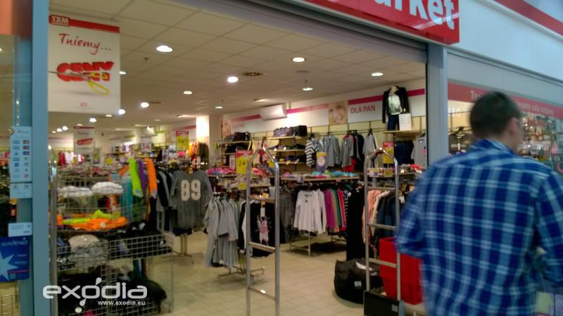 Textil Market in Polen