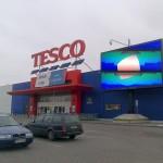 Tesco Hypermarkt in Polen